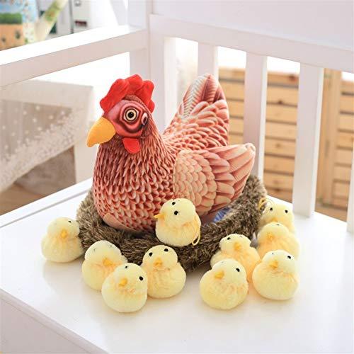 Presente Día creativa almohada Nueva Pascua de pollo de juguete de felpa super suave de algodón PP...
