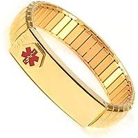 Magnetic Copper Bracelet for Men Gunmetal with 38pcs Strong Magnets Adjustable 21CM//12MM