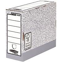 Fellowes Bankers Box 108051, Cajas de Archivos Automáticos, A4, Lomo 100 mm,