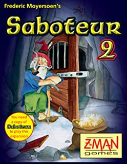 Z-Man Games 4026E - Saboteur 2 (englische Ausgabe) (B004VFR4U4) | Amazon price tracker / tracking, Amazon price history charts, Amazon price watches, Amazon price drop alerts