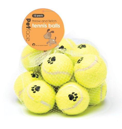 Pelotas de tenis para perros Pack de 12unidades