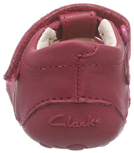Clarks Little Ida Mädchen Halbschuhe Violett (Berry Leather)