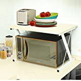 SHELVES Kitchen Shelf Microwave Oven Shelf 2-story Wooden - Best Reviews Guide