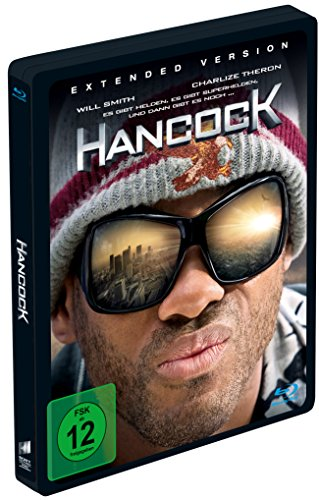 Hancock (Extended Version, Steelbook) [Blu-ray]