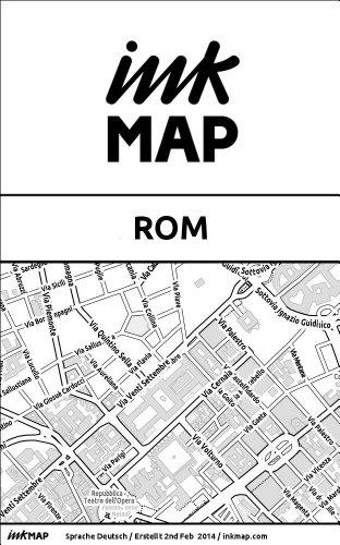 Rom Sehenswürdigkeiten Karte Deutsch.Inkmap Rom Karten Für Kindle Sehenswürdigkeiten Kultur Ausgehen