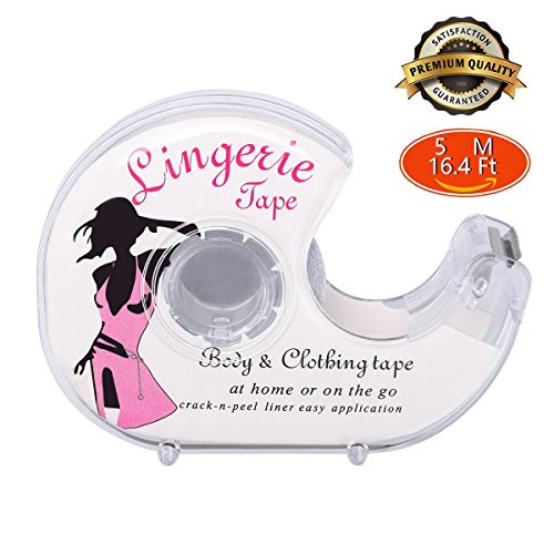 Double Sided Flash Tape Safe For Body Clothing Butt Pads Nipple Cover safe medical grade 16.4Ft/Roll Test