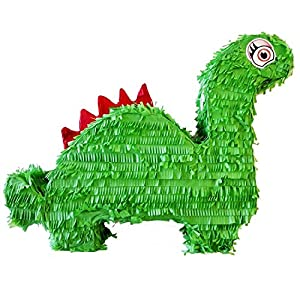 Amscan 9903140Piñata dinosaurios, Verde