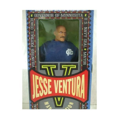 Jesse Ventura Man Of Action 12' Football Coach Fully Articulated Action Figure From Toyboy Man 1999 by formative intl (Jesse Figur)