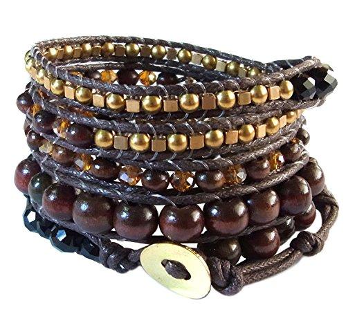 lun-na-asiatique-fait-main-bracelet-boheme-mode-earth-tone-marron-oeil-de-tigre-laiton-cristal-perle