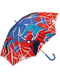 Marvel Ultimate Spiderman 16'' Paraguas, Multicolor