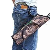 Laixing Buena Calidad Outdoor Hunting Archery Arrow Quiver Holder Training Camo Bow Bag Waist Quiver
