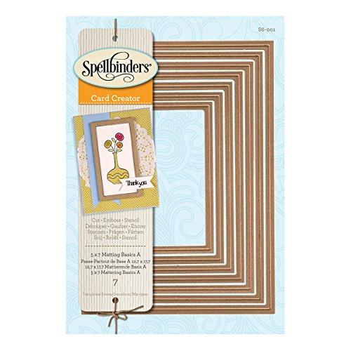 Spellbinders – Set di fustelle base per biglietti, serie Nestabilities, 5 x 7 cm - 4