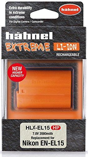Haehnel HLX-el15hp 10001508Extreme Li-Ion batteria per nikon...