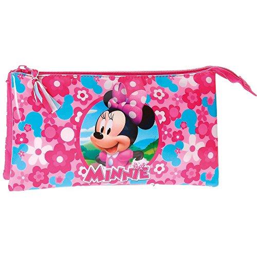 Minnie Mouse – Neceser Estuche portatodo Tres Compartimentos (Joumma 4034361)