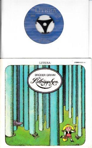 MÄRCHENPLATTE / ROTKÄPPCHEN / BRÜDER GRIMM / 1975 / Bildhülle / LITERA # 5 65 114 / Deutsche Pressung / 7