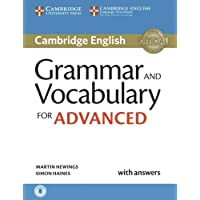 Grammar and Vocabulary for Advanced: Book with answers and audio download