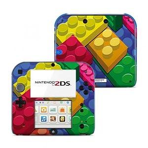 Nintendo 2DS Skin Aufkleber Schutzfolie Design Sticker Set – Bricks