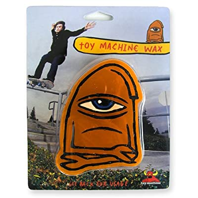 Toy Machine Skateboard Wax - Orange