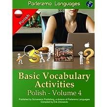 Parleremo Languages Basic Vocabulary Activities Polish: 4