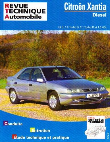 Citroën Xantia diesel jusqu'en 1995 : moteurs diesel et turbo diesel