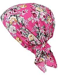 ZYCC Sombrero unisex de la bufanda de la cabeza Bandana algodón impreso Turbante Headwear para el