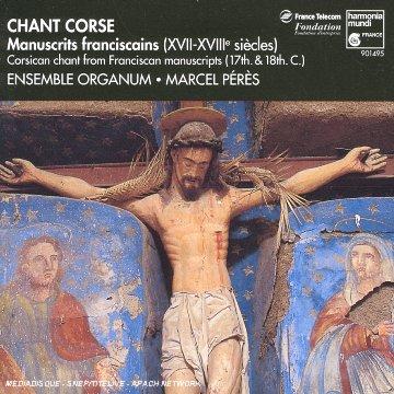 Chant Corse - Manuscrits franciscains