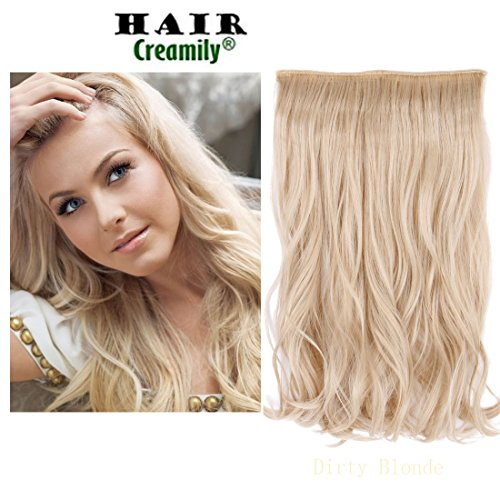 Creamily Haarverlängerung, 38 cm (15 Zoll), , Dirty Blonde (Shampoo Halo Conditioner)