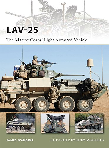 LAV-25: The Marine Corps' Light Armored Vehicle (New Vanguard)