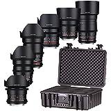 samyang Objectif vdslr Kit pour appareil photo Canon EF–Noir