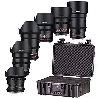 Samyang 7413 VDSLR Lens Kit for Canon EF Mount Camera - Black (B01M0GPNX6)   Amazon price tracker / tracking, Amazon price history charts, Amazon price watches, Amazon price drop alerts
