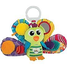 """Lamaze Baby Spielzeug """"Jaques, der Pfau"""" Clip & Go - hochwertiges Kleinkindspielzeug - Greifling Anhänger stärkt die Eltern-Kind-Beziehung - ab 0 Monate"""