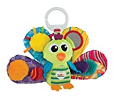 Lamaze Jaques the Peacock Clip On Pram and Pushchair Baby Toy