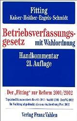 Betriebsverfassungsgesetz: Handkommentar