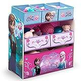 Delta Children's Products Eisprinzessin FROZEN Multi Toy Organizer für Spielzeug