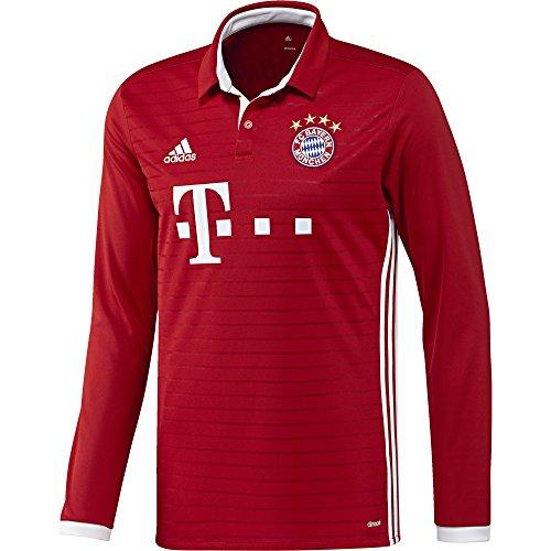 08ec5ca8ee928 adidas Maillot Football/Heim FC Bayern Munich, Copie de l'original M  Rouge/Blanc