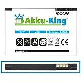 Akku-King Akku für Motorola Razr V3, Razr V3i, PEBL U6 - ersetzt BA700, Prolife 500 - BR50 - Li-Ion - 900mAh