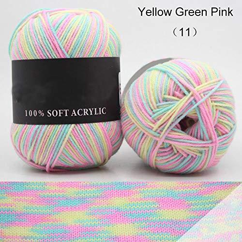 Hilo de lana sintética para bebé de 50 g