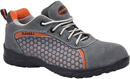Pacal Shoes - Zapatilla Seguridad Rubidio Gris Sp5013Gr 43