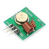 433 MHz Empfänger und Funk- Sendemodul Superregeneration Transmitter-Modul Empfängermodul Einbrecher Alarm (grün)