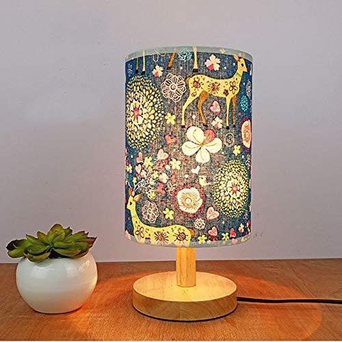 Auf Einem Floral Tisch Lampe (WOQUXIA Lampenschirm Lampenhalter Floral Bird Lampenabdeckung Shade Tisch Deckenleuchte Abdeckung Innenbeleuchtung Zubehör)