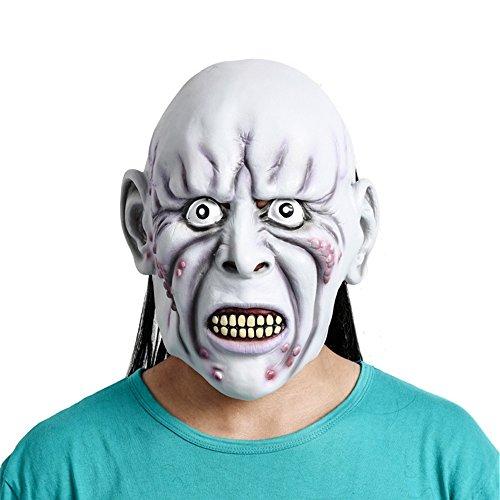 Maske Scary Hexe Maske zeigt unheimliche Requisiten ()