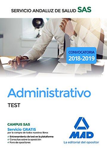 Administrativo del Servicio Andaluz de Salud. Test