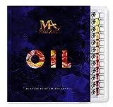 Set Colori a Olio - Set di 24 Colori ad Olio Ricchi di Pigmenti - Da 12 ml - Qualità artistica - Pittura a Olio per Artisti, Studenti e Principianti - Per Paesaggi - MozArt Supplies