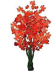 Sofix 5 Ft Big Artificial Maple Tree Bonsai Plant Home Decorative Artificial Tree