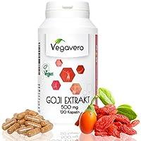 Extracto de Bayas de Goji 5000 mg | Sin Aditivos | Antiedad + Adelgazar + Metabolismo