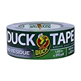Duck Brand No Residue Duck Tape: 1.88 in. x 75 ft. (Silver)
