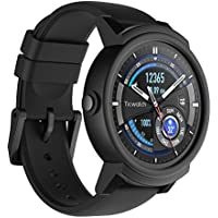 Ticwatch E die bequemste Smartwatch-Shadow, 1,4 Zoll OLED Display, Android Wear 2,0, kompatibel mit iOS und Android, Google Assistant