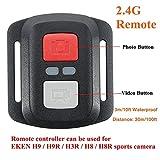 Hanbaili Sport Kamera DV Bluetooth Fernauslösersteuerung, 2,4G Fernbedienung Für EKEN H9 / H9R / H3R / H8 / H8R Kamera Camcorder Wasserdicht