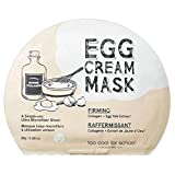Too Cool For School Egg Cream Firming Mask Pack (5pcs) 2016 Upgrade by too cool for school