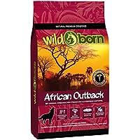 Getreidefreies Hundefutter mit Straußenfleisch von Wildborn African Outback 15 kg | Gesundes Trocken-Futter mit hohem Fleisch-Anteil auch bei Allergie mit Kartoffeln ohne Mais und Weizen | Tier-Futter